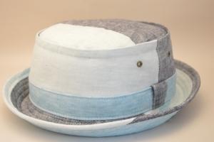 1020:PORK-PIE HAT