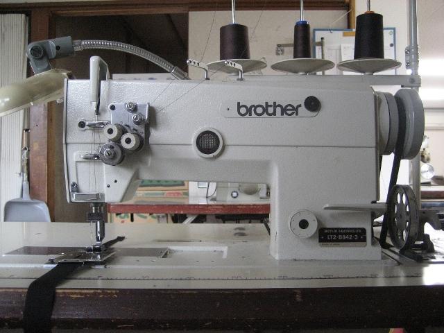 2本針ミシン brother LT2-B842-3