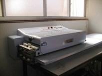 ミニプレス機 連続芯地接着機 SR-200E